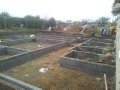 foundations completed 22nd February still