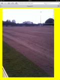 New pitch at Thurrock still