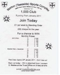 Norton 1000 Club prizes Norton Trust 1000 Club - Norton 1000 Club prizes
