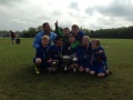 TREBLE WINNERS SKELMERSDALE UNITED U9s
