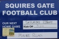 Squires Gate Away still