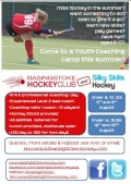 Youth Coaching Camps this summer