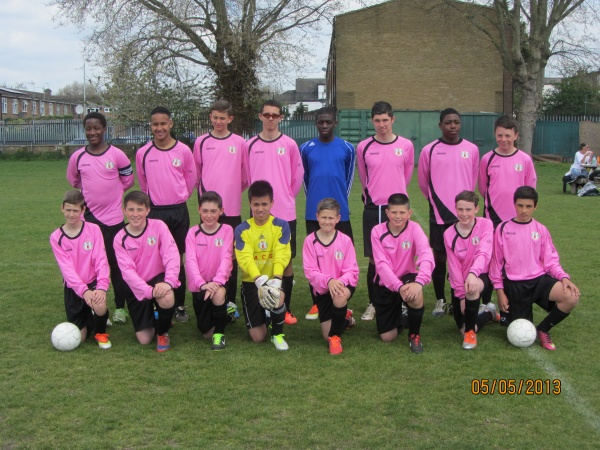 Back row left to right:Ibiama Adnye Dagogo (Ado), Korie Berman, Ricky Gould, Nick Pitchley, Tosan Williams, Jordan McFeeters, Samuel Oluwamuyiwa Omotayo Idowu Osonowo, Brandon Bodimeade.