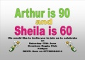 Arthur Hartle is Celebrating his 90th Birthday on Saturday 15th June