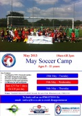 SOCCER CAMP - May half term