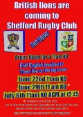 The Lions are coming to Shelford! (for only £7!)