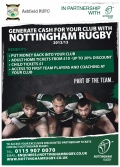 Partners with Championship side Nottingham RFC