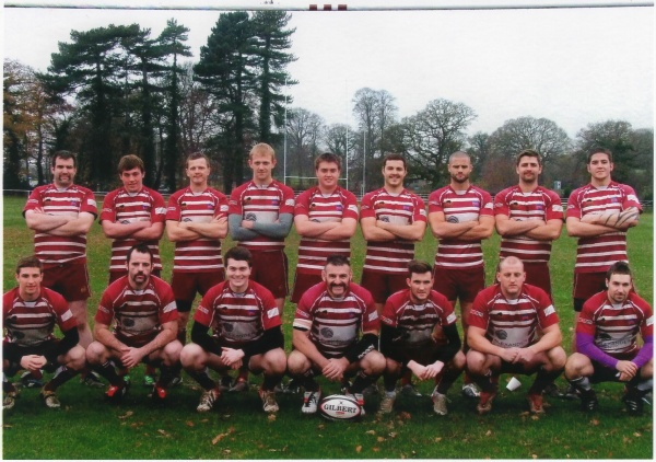 Back Row: A Hardy, S Bromsgrove, R McMillan, C Dolan, J Laddle, B Marsh, C Hughes, C Tyson, A Davis