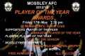 MOSSLEY AFC 2013 PLAYER OF THE YEAR AWARDS