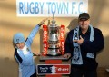 FA Cup Visits Rugby Town  still