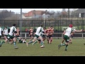 antoin penrose try for east lothian v Sandal RFC still