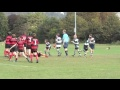 U13s final try v Sleaford still
