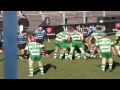 Caerphilly's tries v Rumney still