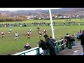 Caerphilly's tries v Risca still