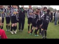 Portishead Youth U13 Celebrating Cup Final Win 28 April 2013 still