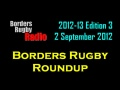 Borders Rugby Roundup Edition 3 - 2.9.12 still