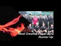 Most Creative Player 2012 - Runner Up still