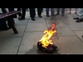 The Burning of the Boots still