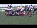 Danny Hague's 3rd Try at Westoe still