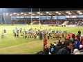 Leigh RUFC M&J Guard of Honour at Sale v Harlequins 22 Feb 13 still