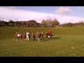 U8&U7 first training at Dunston still