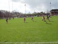 Jamie Harrison scoring a try against Rosslyn Park still