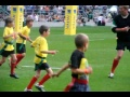 Aiden Neil scoring for Oxford U9s at Twickenham  still