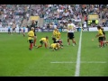 Lovely Oxford U9s try after long period of play at Twickenham still